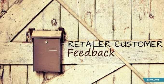 Retailer Customer Feedback