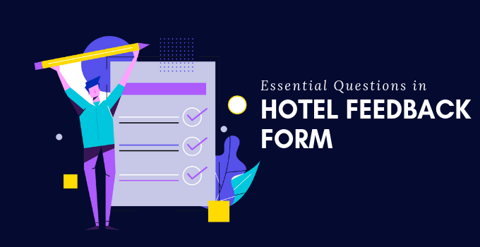 Essential Questions Hotel Feedback Form
